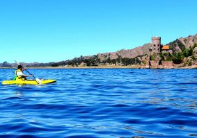 Kayaking From Puno to the Uros Islands Half Day