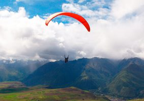 Paragliding in Sacred Valley Adventure of Height